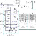 Принципиальная схема реверсивного по якорю электропривода