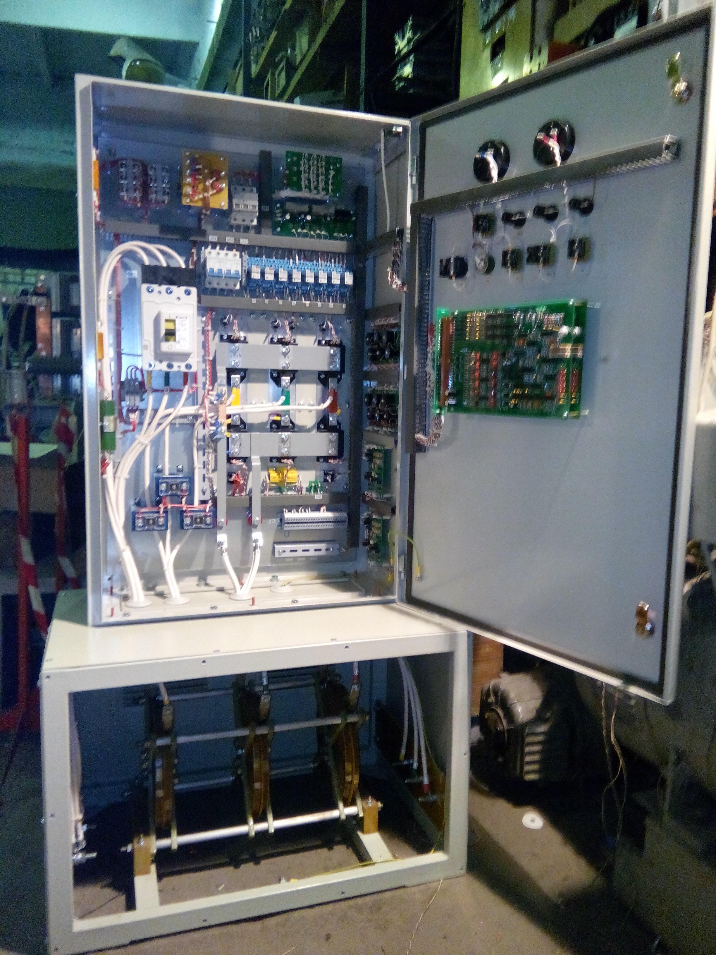 Электропривод роторного экскаватора ЭР1250