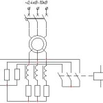 Схема индукторной роторной станции пуска