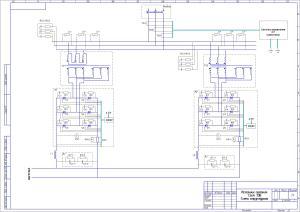 Схема структурная ИП 7,5кА